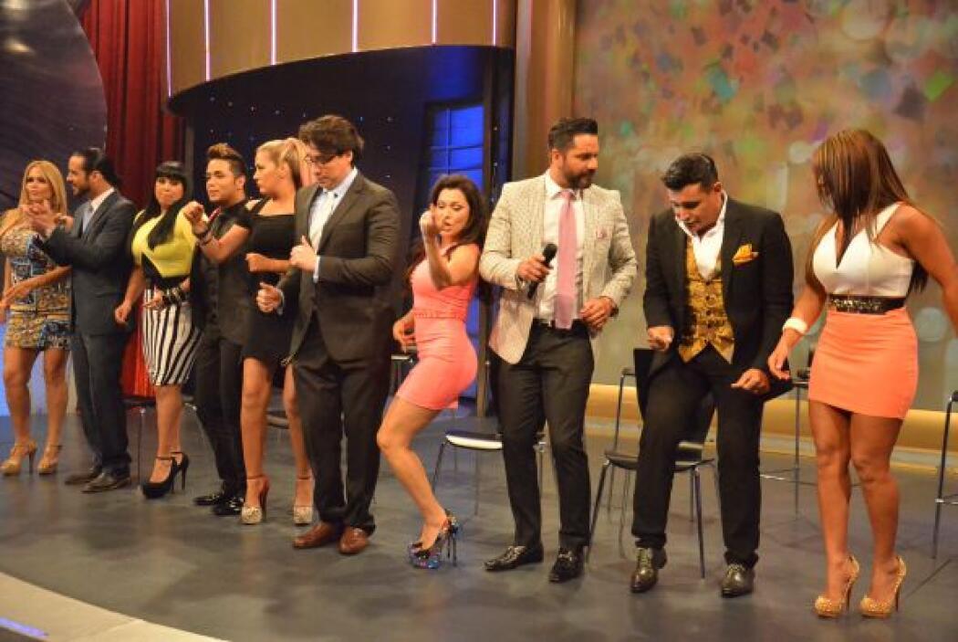 ¡Vaya que demostraron sus aptitudes dancísticas!