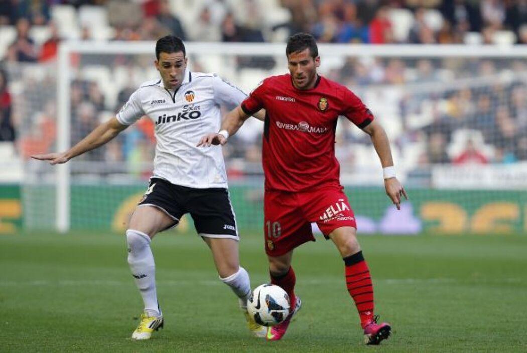 Horas antes, el Valencia recibió la visita del Mallorca.
