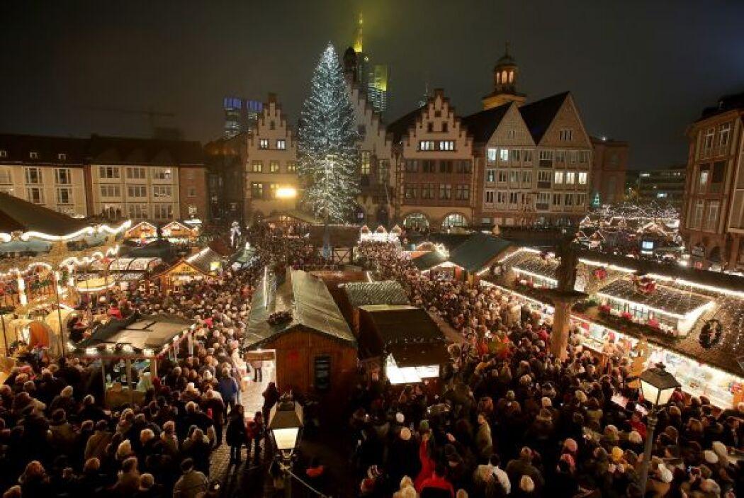 En Alemania la Navidad es una fecha muy importante para salir a las call...