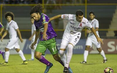 Alianza igualó 1-1 con el Antigua
