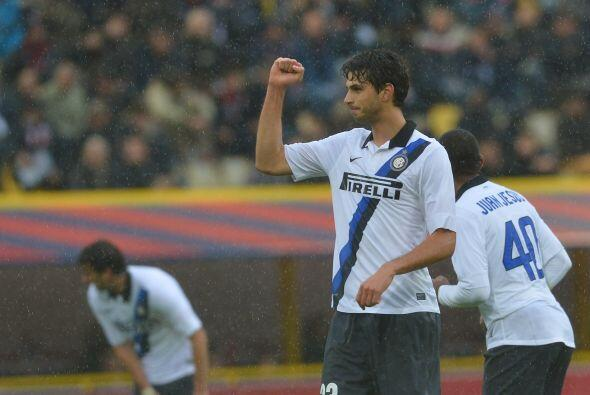 También del cuadro 'nerazzurri' contamos con el zaguero Andrea Ranocchia.