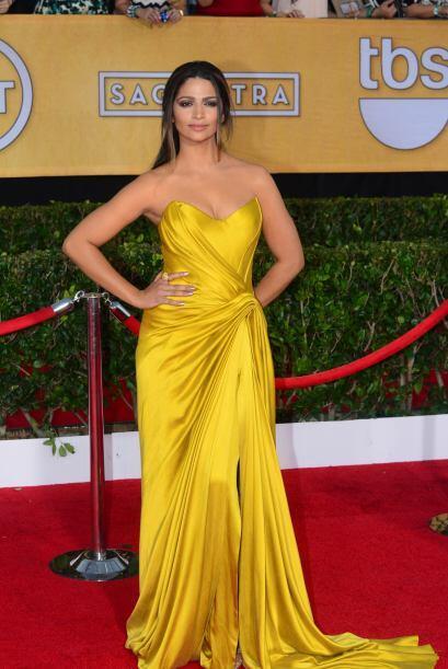 La brasileña Camila Alves brilló de una manera exquisita con ese 'Vintag...