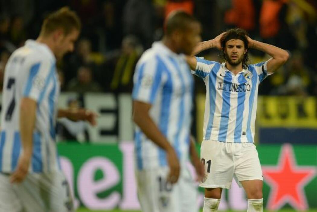 No lo podía creer el Málaga que ya se veía en semifinales.
