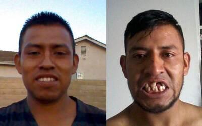 Luis Loza, residente de Oxnard, California, cuenta que un fuerte golpe e...