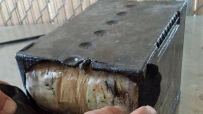El decomiso se hizo en el Puerto de Douglas, donde durante una inspecció...