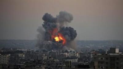 Bombas aéreas han dejado decenas de muertos en la Franja de Gaza