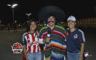 Kevin Arnulfo estuvo muy feliz en el Clásico Chivas vs América