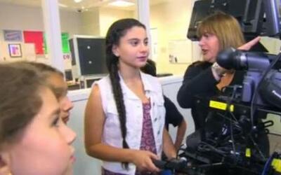 La hija de Paola Gutiérrez hizo su primer reportaje