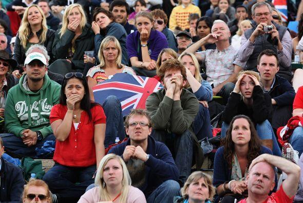 La ilusión de los británicos de ver campeón a Murra...