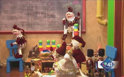 Zoológico de SA recibe el espíritu navideño