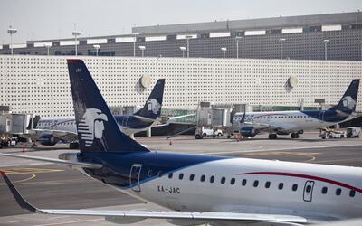 Aeropuerto Internacional de la Ciudad de México (archivo)