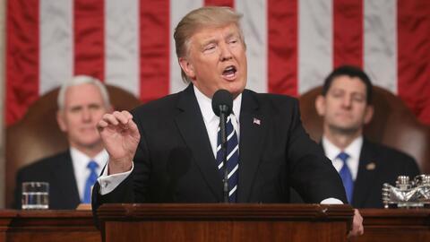 Discurso del presidente Trump podría calificarse como positivo, ante el...