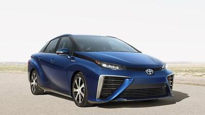 El Fuel Cell Sedan es producto de 20 años de investigación.