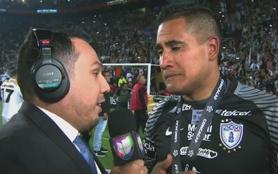 """Poncho Blanco y su parte de victoria: """"Siempre he tenido los colores de..."""