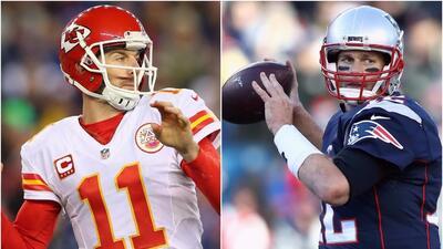 Alex Smith vs. Tom Brady