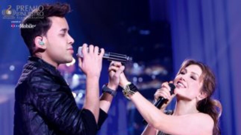 Thalia y Prince Royce juntan la bachata con el pop para encantar al públ...