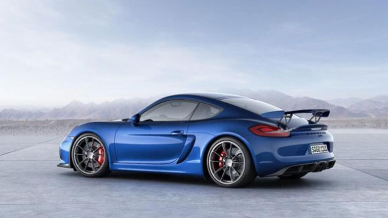 El nuevo GT4 es la versión GT3 del Cayman.