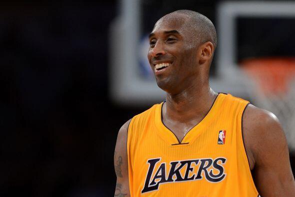 El experimentado Kobe Bryant también ha sido de lo mejor de la liga. A p...