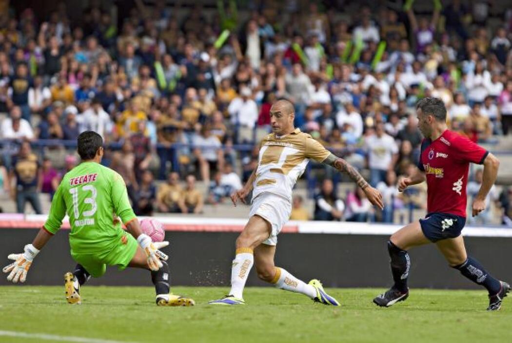 El 'Loco' solo pudo festejar dos goles en todo el torneo, producción que...