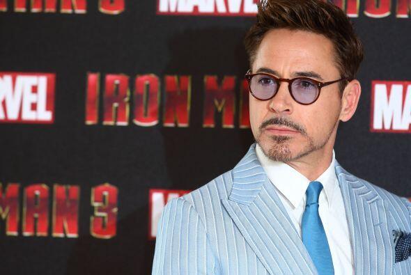 Robert Downey Jr., el guapísimo protagonista de la saga cinematog...