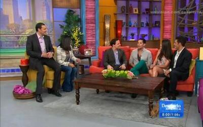 Christian Chávez llegó a Despierta América y hablo de sus nuevos proyectos