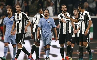 Juventus derrotó 4-1 a la Sampdoria