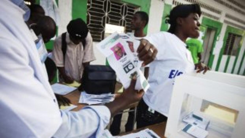 Tras una intensa jornada electoral, Haití comenzó el recuento de votos.