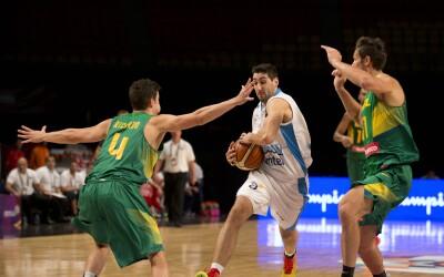 en el primer encuentro del grupo B del Preolímpico FIBA Américas 2016.
