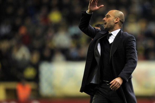 Guardiola no pudo encontrar el camino para recuperar el juego de su equipo.