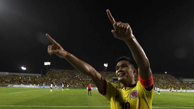 Colombia derrotó 2-0 a Honduras
