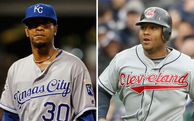 Yordano Ventura y Andy Marte