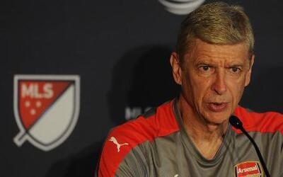 """Arsene Wenger: """"Cada vez hay más gente en Estados Unidos que ama el fútbol"""""""