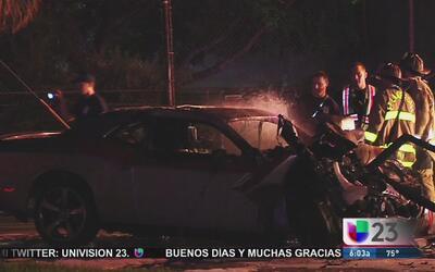 Choque entre un automóvil y un autobús en Fort Lauderdale deja dos muertos
