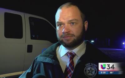 Autoridades investigan una persecución policial en Emanuel, Georgia