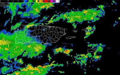 Aviso de inundaciones en Puerto Rico