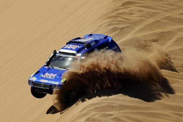 Las dunas pueden ser un reto difícil para cualquiera.