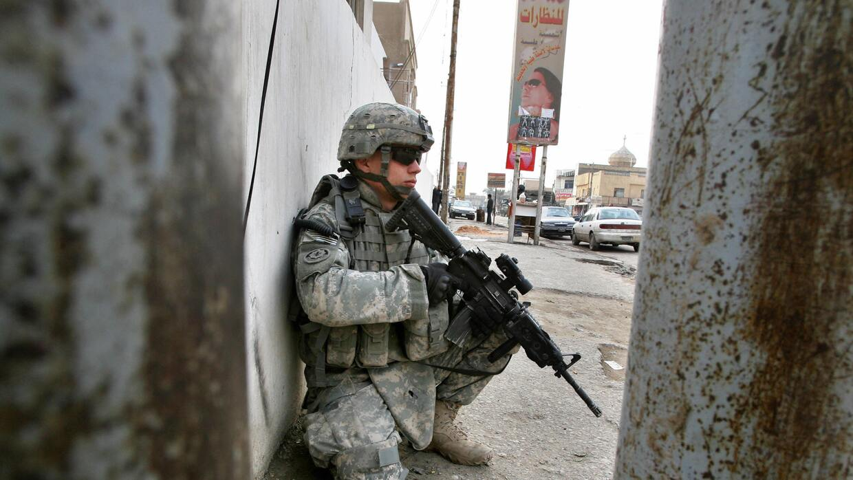 Soldado de EEUU en Siria.