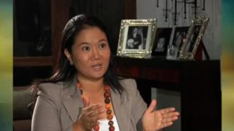 Keiko Fujimori quiere la presidencia de Perú