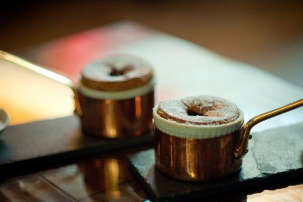 Soufflé: La característica de un buen soufflé es que quede verdaderament...