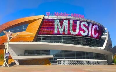 La T-Mobile Arena fue inaugurada en abril de 2016.