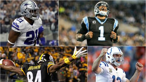 Cowboys, Panthers, Steelers y Colts tendrán victorias en la Semana 4.