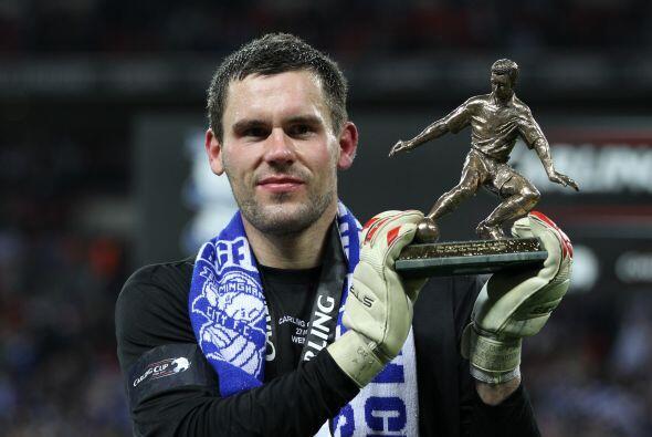 Foster recibió el premio como el mejor jugador del encuentro.