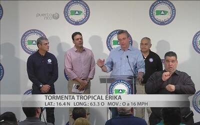 Conferencia paso de Erika por Puerto Rico