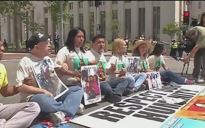'Caravana contra el miedo' dejó su huella en Los Ángeles