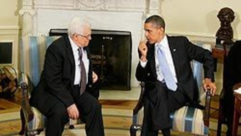 """Obama consideró """"insostenible"""" el bloqueo de Gaza tras reunión con Abás..."""