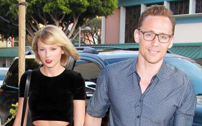 Taylor Swift y Tom Hiddleston en plena 'date'.