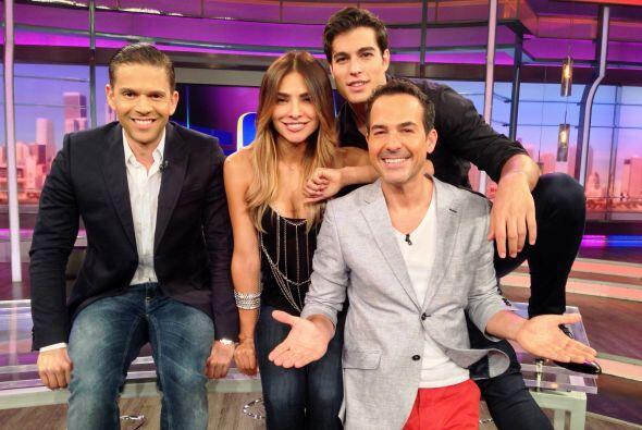 Ale Espinoza aceptó el reto de salir sin maquillaje en televisi&o...