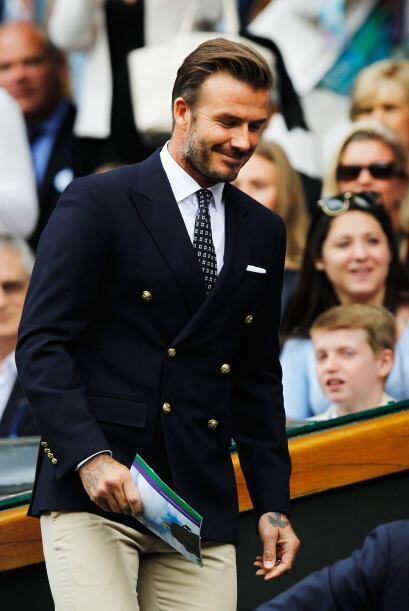 Beckham a su llegada. Mira aquí los videos más chismosos.