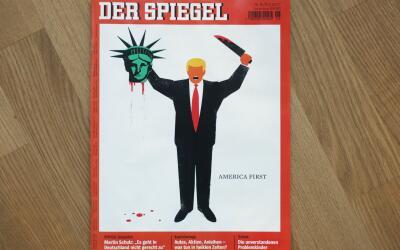 Un cubano es el creador de la controversial caricatura de Donald Trump q...