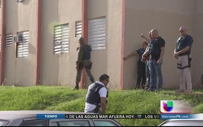 Realizan operativo antidrogas en residencial de Manatí